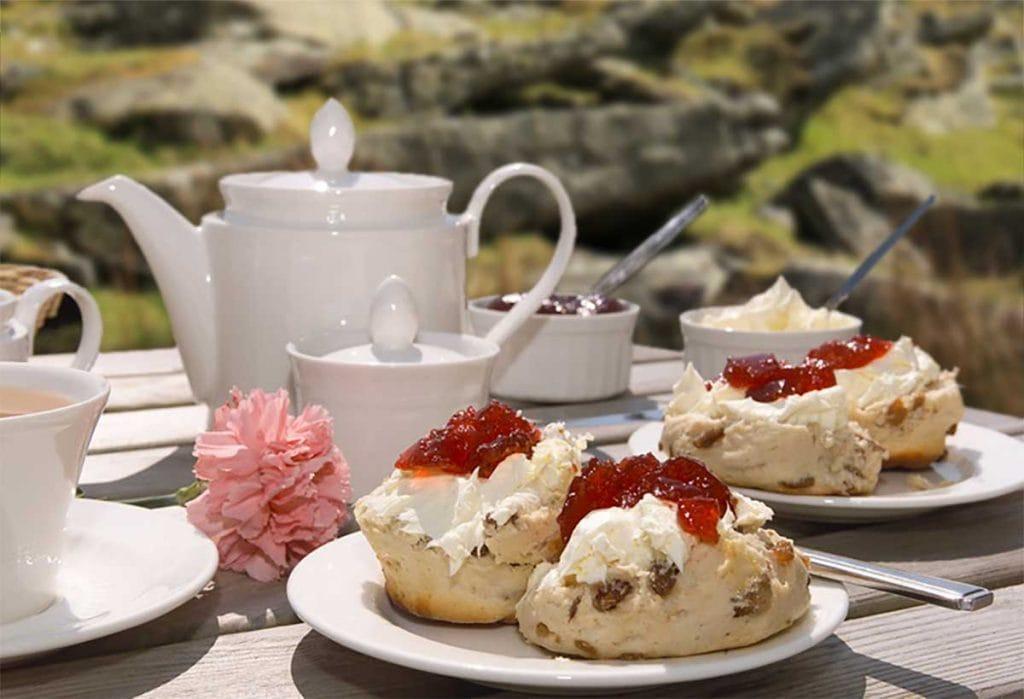 Cream tea celebration